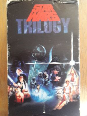 VHS Star Wars Triliogy for Sale in St. Louis, MO