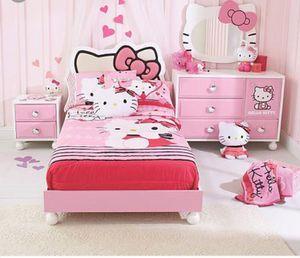 Hello Kitty Bedroom Set 4 Pcs For In Murrieta Ca