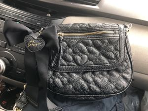 Betsey Johnson black purse for Sale in Inwood, WV