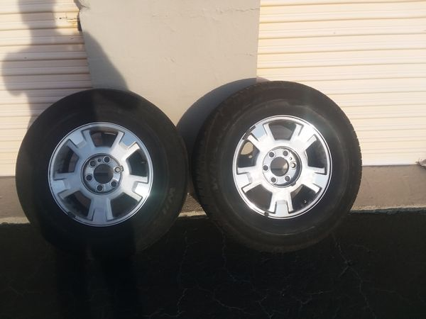 Ford F150 Factory Rims With Tires 800 Boats Marine In Pompano