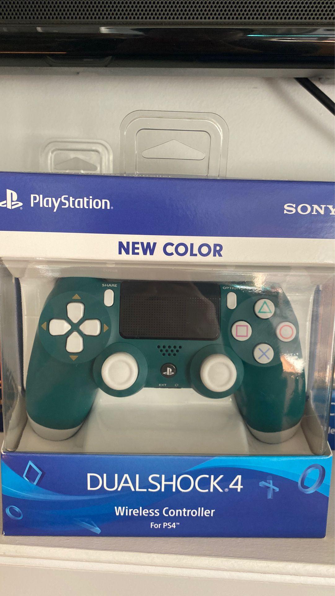 Alpine green PS4 controller rare