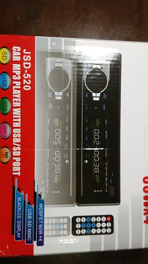 60Wx4 Car Stereo, Bluetooth, SD,USB, MP3 for Sale in Washington, DC