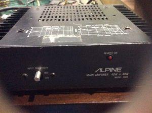 Alpine AMP (retro) for Sale in Pittsburgh, PA