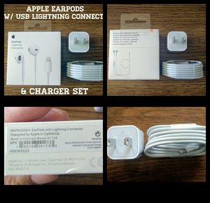 Iphone 7 / 7+ / 8 / 8+ / X Apple Accessory Set (Originals) for Sale in Arlington, VA