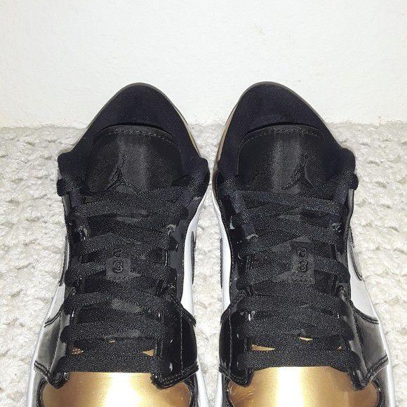 Air Jordan 1 Low 'Gold Toe' Size 11.5