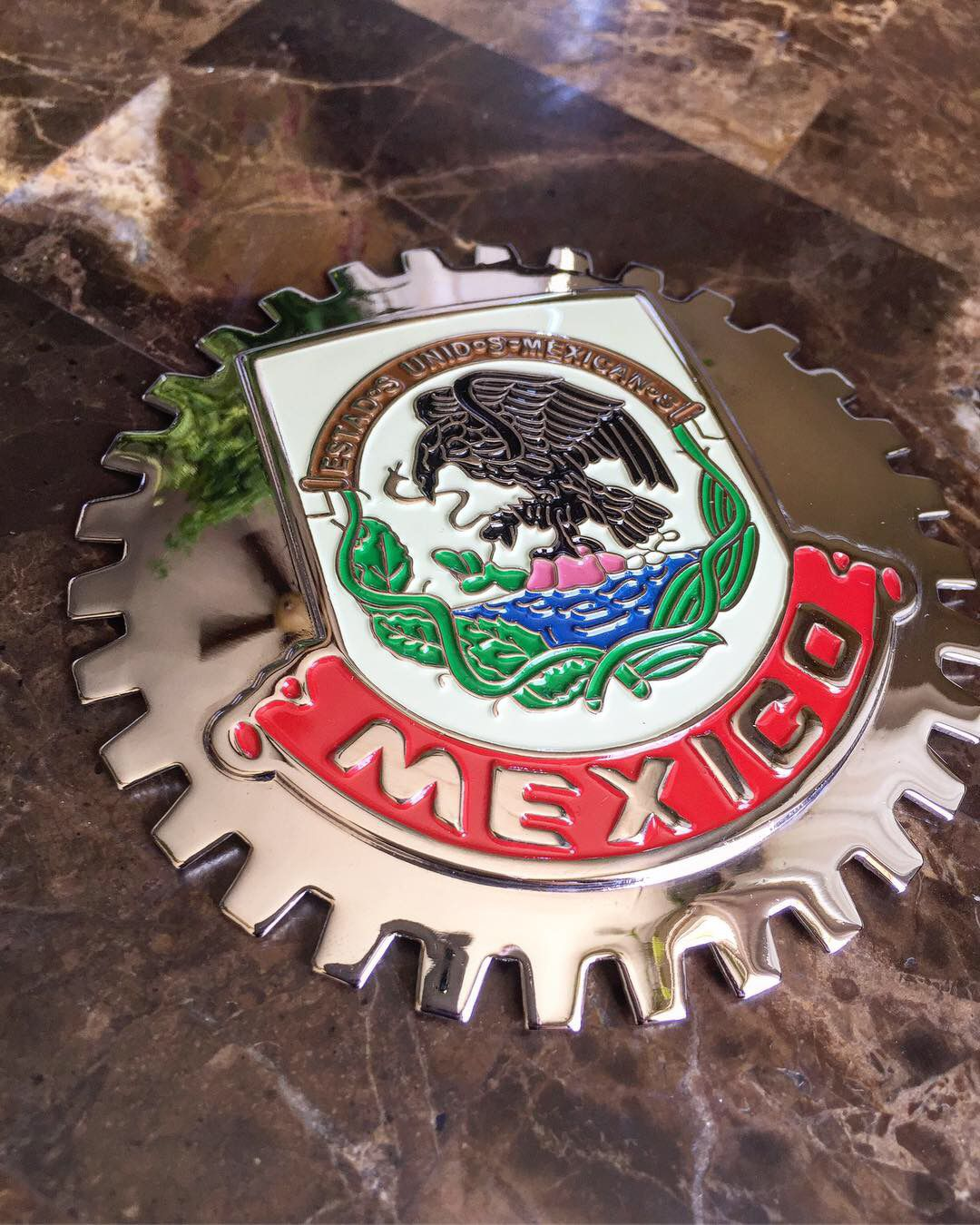 Mexico Grill Badge