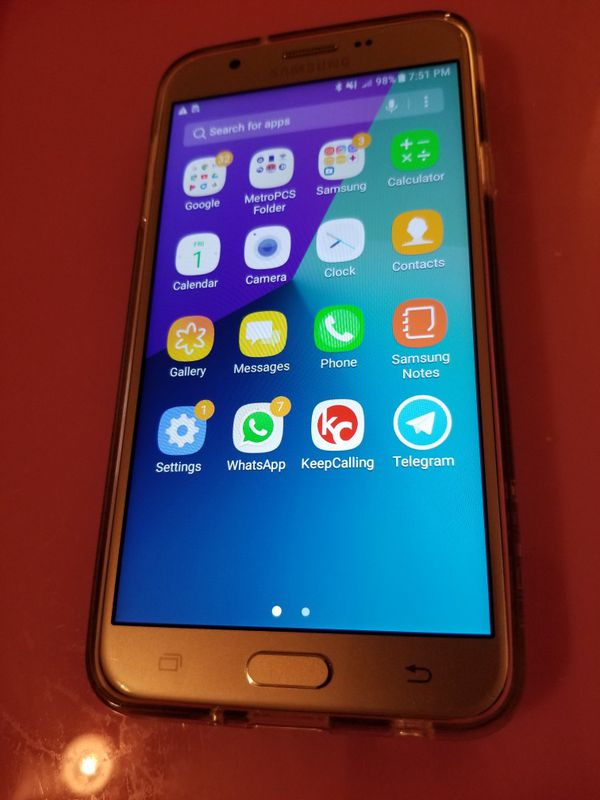 Gold Samsung Galaxy j7 factory unlocked for att, tmobile, cricket, metropcs  for Sale in Midland, TX - OfferUp