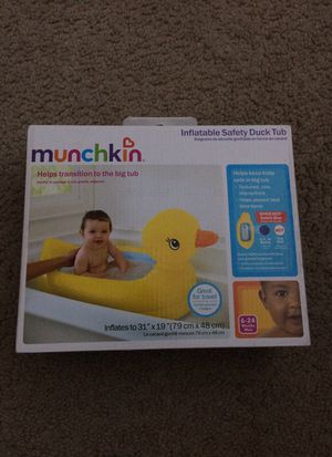 Inflatable safety duck tub for Sale in Fairfax, VA