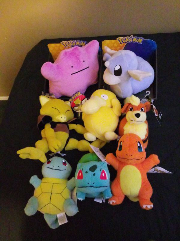 Gen 1 pokemon plushies  for Sale in Bowie, MD - OfferUp
