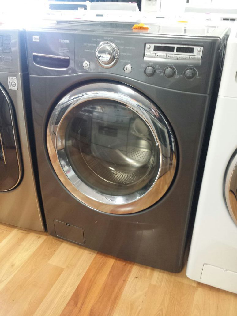 LG GRAY FRONT LOAD WASHER ONLY