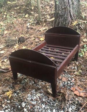 Antique primitive wooden doll bed for Sale in Villa Rica, GA