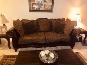 Couch, Coffee Table, and Side Table Set for Sale in Silver Spring, MD