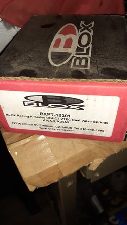 Blox Racing K20  New Valve Spring Set Thumbnail