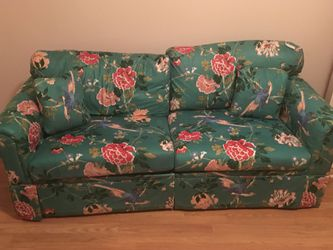 Pull out sofa bed no pets no stains no smells pick up in knightdale oh must have help to load firm price 45 Thumbnail