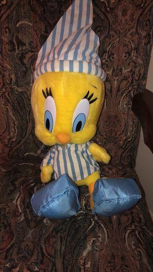 VINTAGE 1999 Looney Tunes SleepyTime Tweety Bird Special Edition for Sale in Fairfax, VA