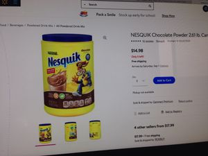 One of Nestle Nesquik. Please See All The Pictures and Read the description for Sale in Bailey's Crossroads, VA