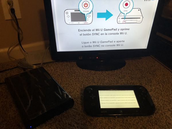 Wii U with super smash brothers for Sale in Vacaville, CA - OfferUp