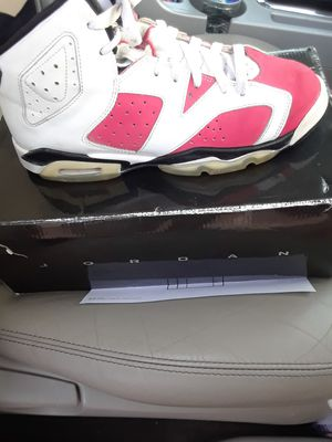 retro jordan 6s carmine size 7 with box for Sale in Phoenix 77ccf359b