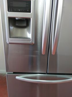 REFRIGERATOR KITCHEN AID FRENCH STAINLESS STEEL Thumbnail