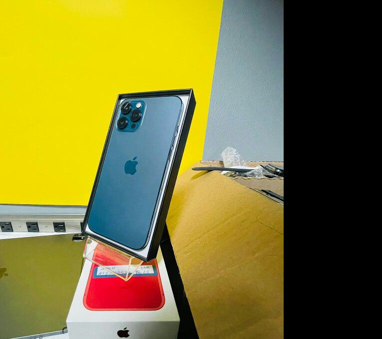 New iPhone 12 Pro Max in Box (Finance for $80 down and take home today, 3months no interest) $1299