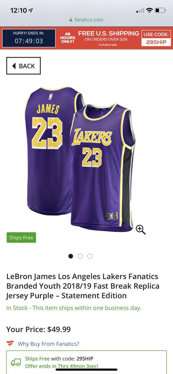 b662bc4d3e0 New and Used Lakers jersey for Sale in Bellflower