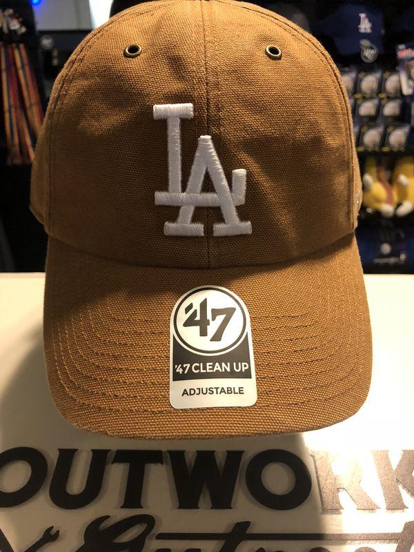85592f7b Dodgers carhartt cap brand new 47 brand for Sale in Baldwin Park, CA -  OfferUp