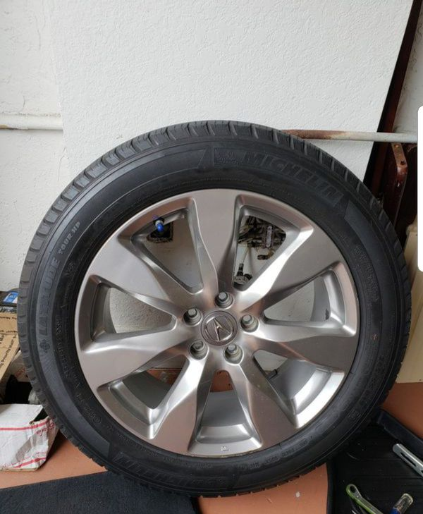 """Single 19"""" 2014-16 OEM Acura MDX Rim And Tire For Sale In"""