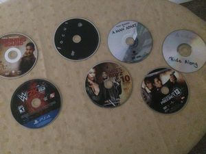 Movies & 1 game for Sale in Gaithersburg, MD