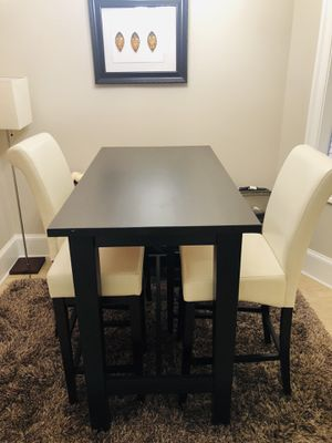 Bar Height Dining Set - Table & Chairs for Sale in Washington, DC