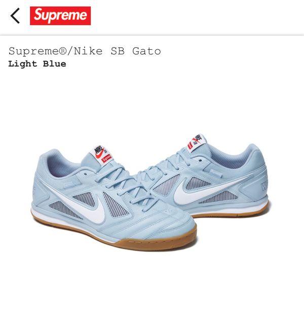 Supreme Nike Sb Gato Light Blue 10