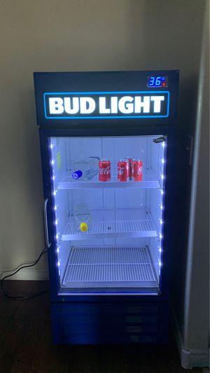 Photo Bud light fridge