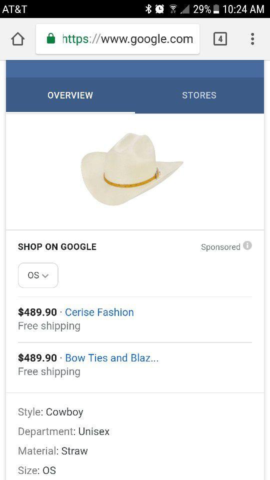 Larry Mahan hat 100X for Sale in Rockwall 21665ce5da1