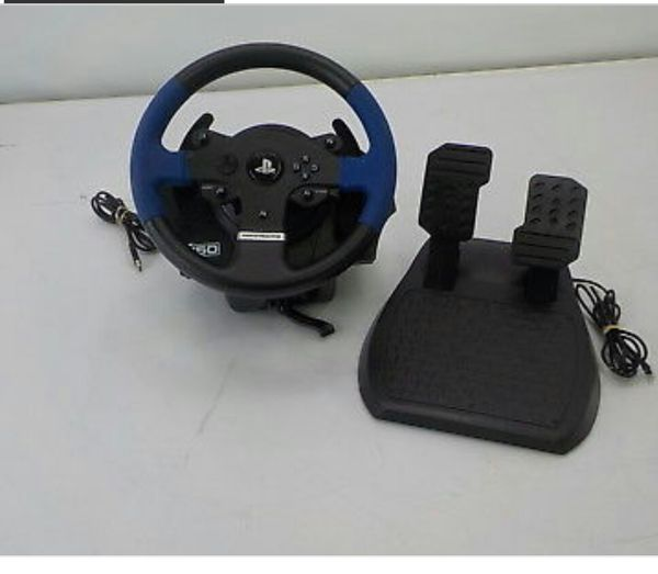 Thrustmaster t150 racing wheel for ps4-pc-ps3 for Sale in Birmingham, AL -  OfferUp