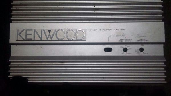 Kenwood amp *for repair * for Sale in Aurora, CO - OfferUp