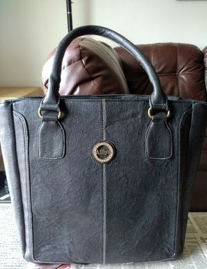 Leather bag like new for Sale in Troy, NY