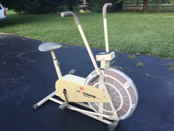 Dp Air Gometer Exercise Bike For Sale In Lewes De Offerup