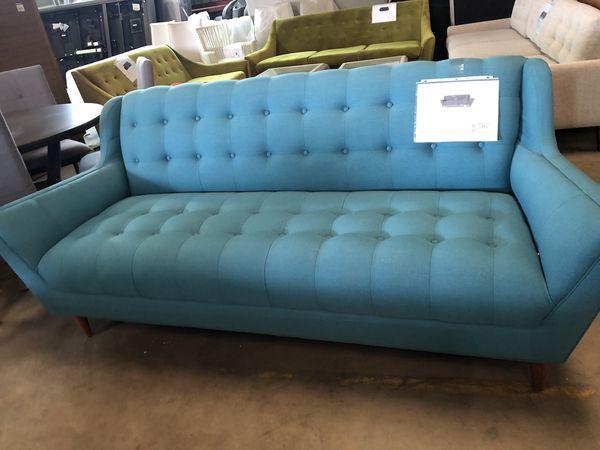New Mid Century Joy Bird Fitzgerald Sofa For Sale In
