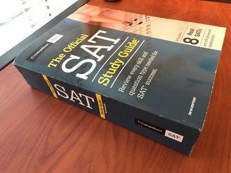 SAT Study Guide Book 2018 Edition Thumbnail