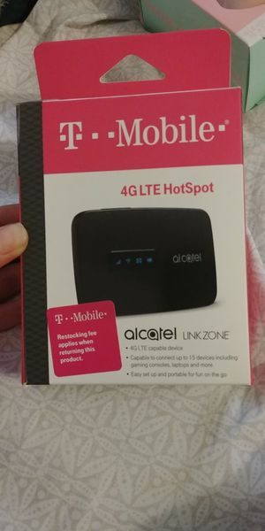 Brand new 4G T-Mobile Hot Spot Alcatel Link Zone for Sale in Arcadia, CA