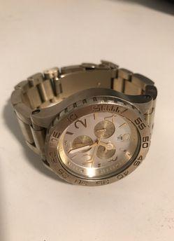 Nixon 51-30 Gold Watch Thumbnail