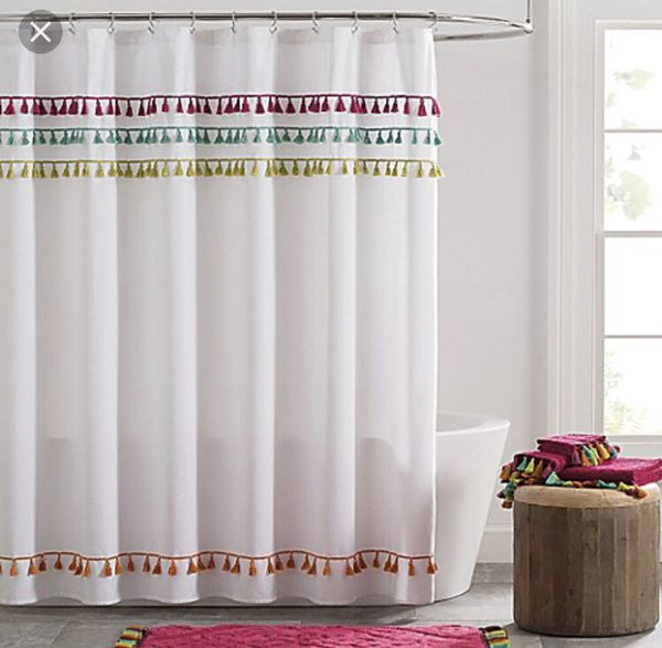 Tassel Shower Curtain For Sale In Dallas TX