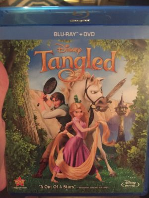 Tangled blue ray DVD for Sale in Apex, NC