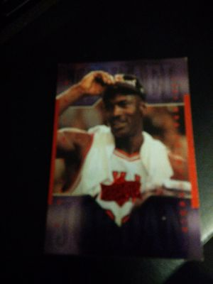 Photo Michael Jordan 1999 Upper Deck Athlete Of The Year Basketball Card