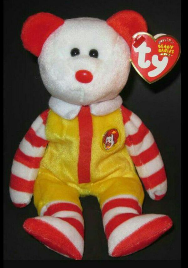 5ef8c7f685a Ty Beanie Baby Ronald McDonald New With Tags for Sale in Palatine ...