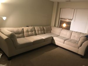 Used value city sofa for Sale in Cleveland, OH