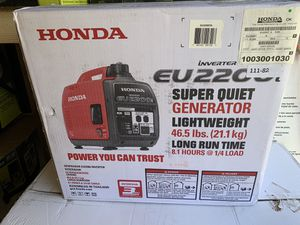 Photo Brand new Honda EU2200i super quiet inverter generator firm price