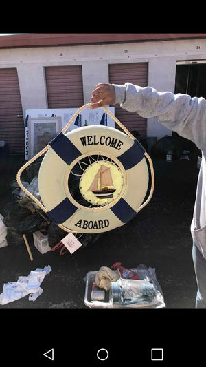 Welcome life boat decore for Sale in Las Vegas, NV