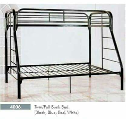 Twin/Full Metal Bunk Bed