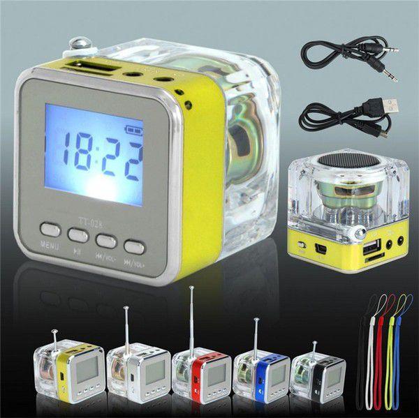 Mini Rechargeable FM Radio