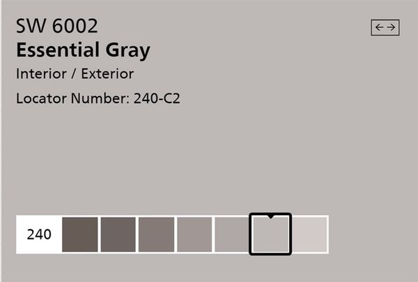 Dunn Edwards Interior Paint Essential Gray 2 Gallons Available